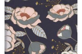 Jersey Art Gallery Fabrics Sparkler Fusion fleurs, x10cm