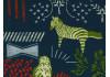 Tissu Echino Habitat bleu marine dans TISSUS JAPONAIS par Couture et Cie