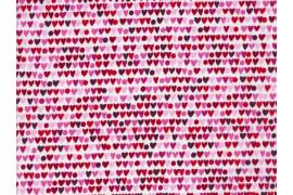 Tissu Alexander Henry Heart to heart rose x10cm