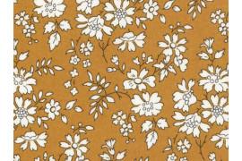 Tissu Liberty Capel moutarde, x10cm