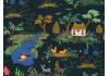 Tissu Rifle Paper English Garden vert x10cm dans COTTON + STEEL par Couture et Cie