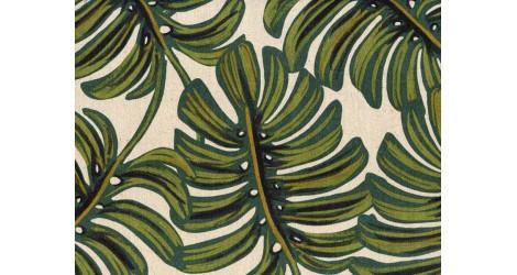 Tissu Rifle paper Menagerie Monstera x10cm dans COTTON + STEEL par Couture et Cie