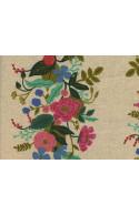 Tissu Rifle paper English garden Floral Vines crème Canvas x10cm