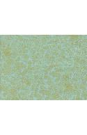 Tissu Rifle paper Menagerie Champagne Mint Metallic x10cm