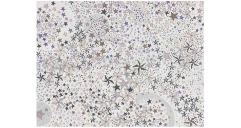 Tissu Liberty New Adelajda gris x10cm dans Tissus LIBERTY OF LONDON par Couture et Cie