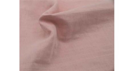 Lange bio à carreaux faux uni rose layette x10cm