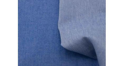 Tissu bio Denim Etendard x10cm