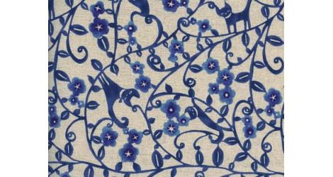 Kokka K.E.A. Chats bleu x10cm