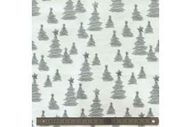 Tissu Christmas Wonders x10cm