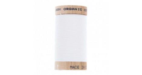 fil à coudre coton biologique blanc 4800 dans Fils à coudre bio par Couture et Cie