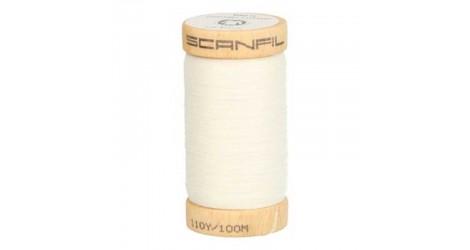 fil à coudre coton biologique écru 4801 dans Fils à coudre bio par Couture et Cie