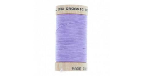 fil à coudre coton biologique lavande 4812