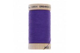 fil à coudre coton biologique violet 4813