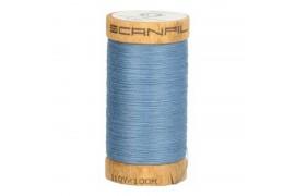 fil à coudre coton biologique bleu jean 4816