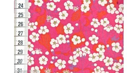 Tissu Liberty Mitsi rose dans Tissus LIBERTY OF LONDON par Couture et Cie
