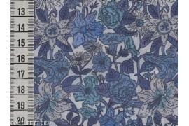 Tissu Liberty Phyllis bleu
