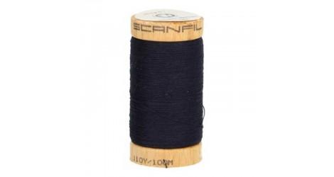 Fil à coudre coton biologique bleu marine 4818 dans Fils à coudre bio par Couture et Cie