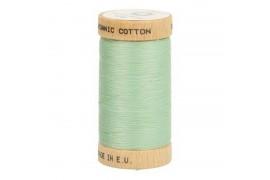 Fil à coudre coton biologique vert d'eau 4820