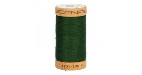 Fil à coudre coton biologique vert sapin 4822 dans Mercerie par Couture et Cie