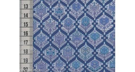 Tissu Liberty Nomad bleu dans Tissus LIBERTY OF LONDON par Couture et Cie