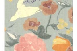 Nani Iro, Fuccra Rakuen gris bleu x10cm