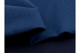Chambray coton biologique bleu nuit, X10cm