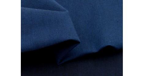 Chambray coton biologique bleu nuit, X10cm dans TISSUS BIOLOGIQUES par Couture et Cie