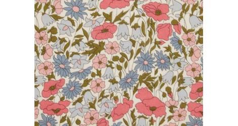 Tissu Liberty Poppy and Daisy Hortensia, x10cm dans Tissus par Couture et Cie