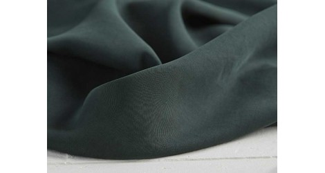 Tencel Twill medium deep green, x10cm dans Tencel par Couture et Cie