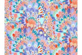 Tissu Liberty Eben multicolore, x10cm