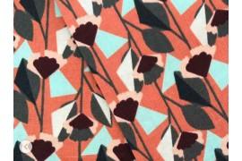 Cotton + Steel Emilia Florence rouille, x10cm