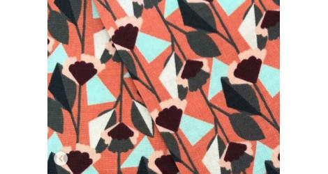 Cotton + Steel Emilia Florence rouille, x10cm dans COTTON + STEEL par Couture et Cie