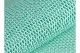 Tissu Filet coton bio menthe, x10cm