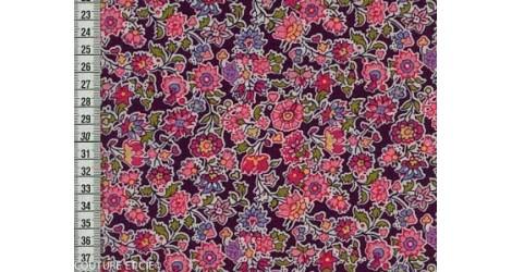 Tissu Liberty Pereira violet x10cm dans Tissus LIBERTY OF LONDON par Couture et Cie