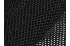 Tissu Filet Mesh coton bio noir, x10cm