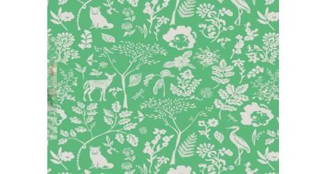 Tissu Art Gallery Fabrics Signature vert, x10cm