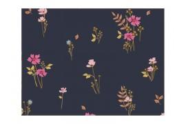 Tissu Art Gallery Fabrics Mayfair Covent Garden noir, x10cm