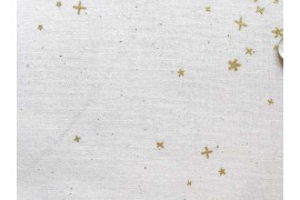 Cotton + Steel Basics Freckles métallique, x10cm