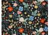 Tissu Rifle Paper Strawberry Fields noir, x10cm dans Rifle Paper Co par Couture et Cie