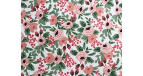 Tissu Rifle Paper Garden Party Rosa-rose, x10cm