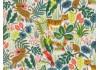 Tissu Rifle Paper Menagerie Jungle écru, x10cm dans COTTON + STEEL par Couture et Cie