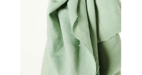 Lin Nisa softened Linen vert sauge, x10cm dans Tissus par Couture et Cie