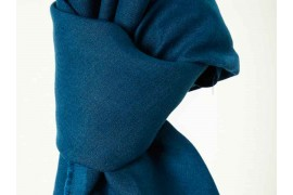 Lin Mind The Maker nisa softened linen bleu ocean, x10cm