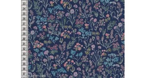 Liberty Tess and Rosa bleu dans Tissus LIBERTY OF LONDON par Couture et Cie