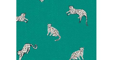 Jersey Art Gallery FAbrics Boscage panthere, X10cm