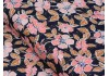 Tissu Art Gallery Fabrics Homebody Fleurs fond noir, x10cm
