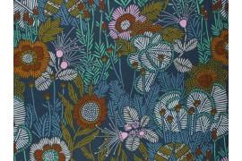 Tissu Cloud 9 fabrics Grasslands Embroidered Floral, x10cm