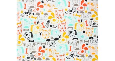 Tissu Art Gallery Fabrics Oh Woof, Woof this way, x10cm