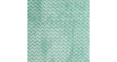 Tissu Minky Wave vert menthe, x10cm dans Teddydou / Minky par Couture et Cie