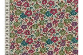 Tissu Liberty Clarisse rose et vert